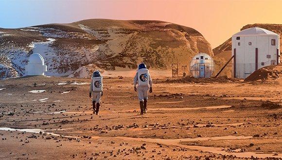 Mars'ta üçüncü su deposu bulundu. Mars'ta Yaşanır.